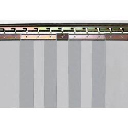 Crochets sur plaque en acier électrozingué