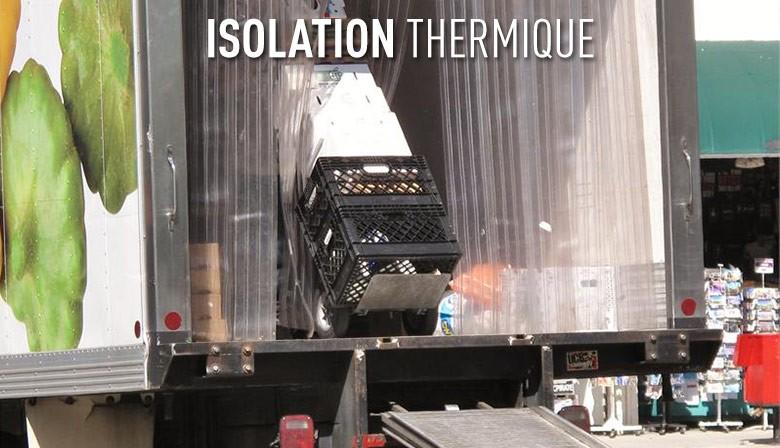 Lanière PVC isolation thermique