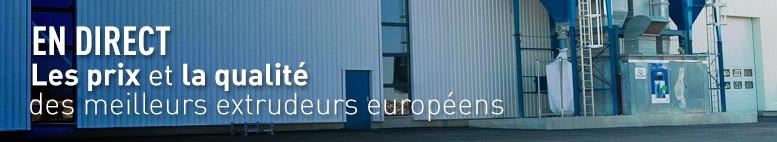 Les prix et la qualité des meilleurs extrudeurs européens